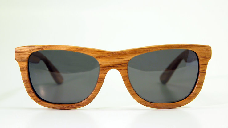 The Pines. classic wayferer by kraft wooden eyewear