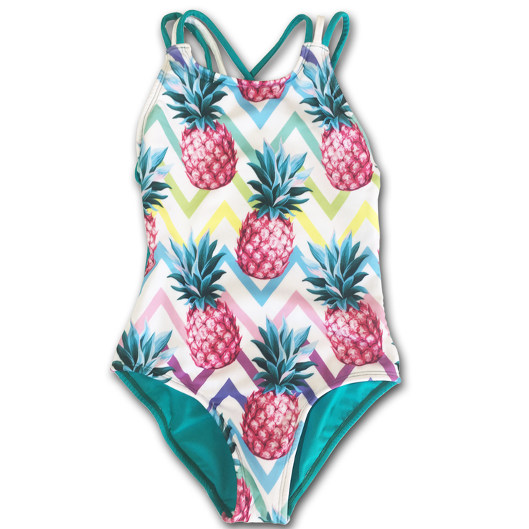 Pink Pines & Sea Green Swimwear by Strut Active
