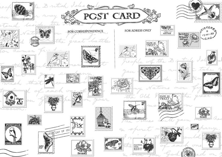 Placemat Stamps by 5 Things