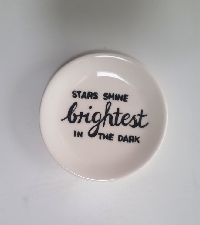 Mini Plate Starshine by Potsicle Ceramics