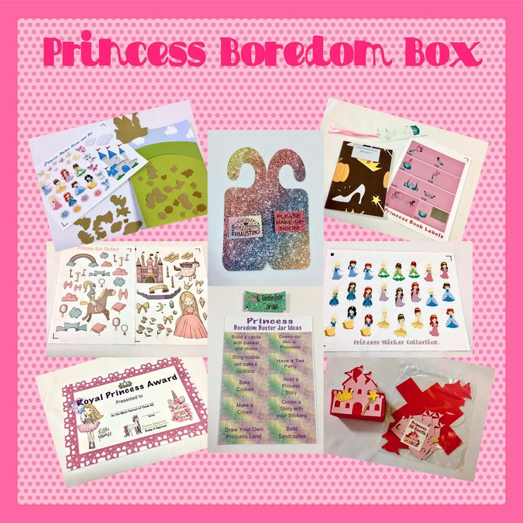 Princess or Fairy Boredom Box by The Art of Creativity Studio