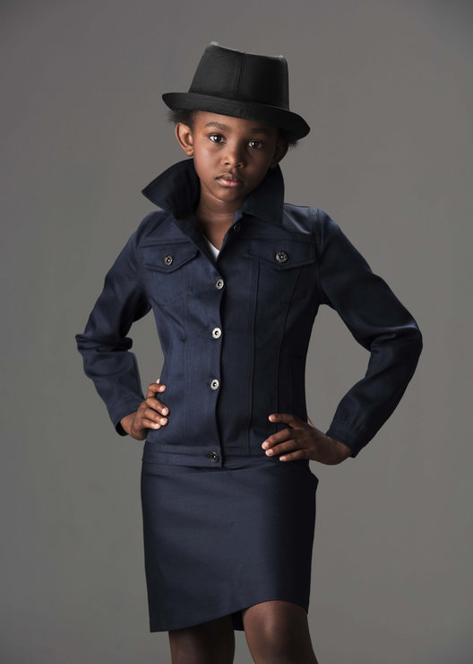 Prodigy Navy Blue Jacket and Skort  by Prodigy House