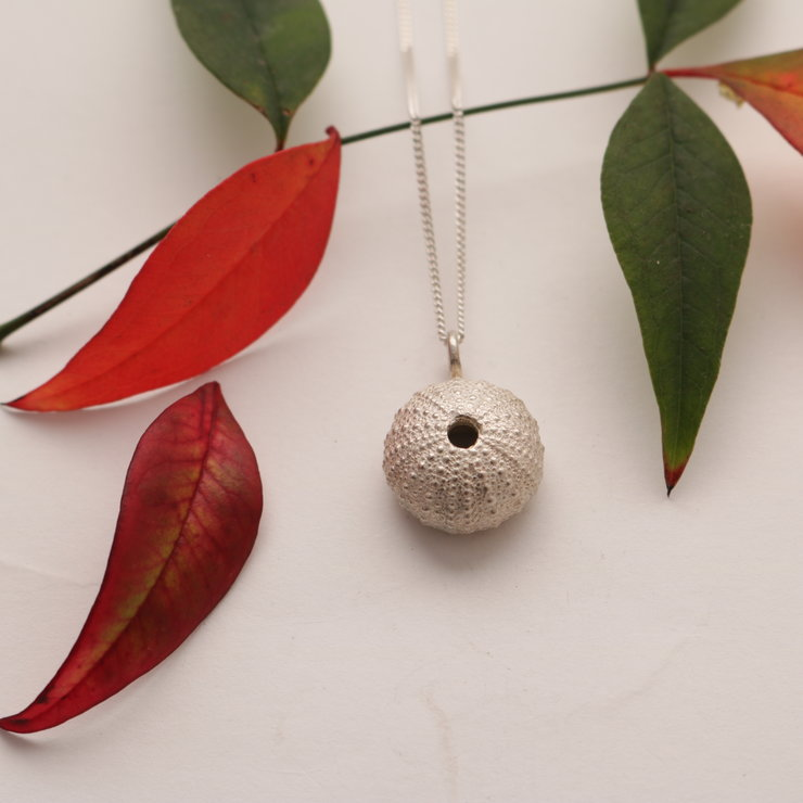 Sea urchin pendant by Charli Design Studio