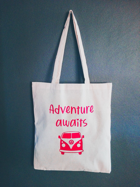Tote Bag - Adventure Awaits  by Betty Boo