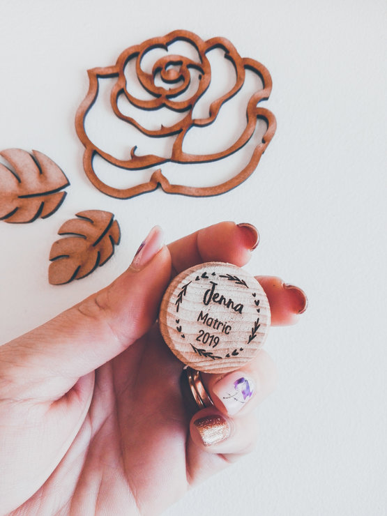 Wine & Champagne Cork Stopper - Personalised  by Betty Boo