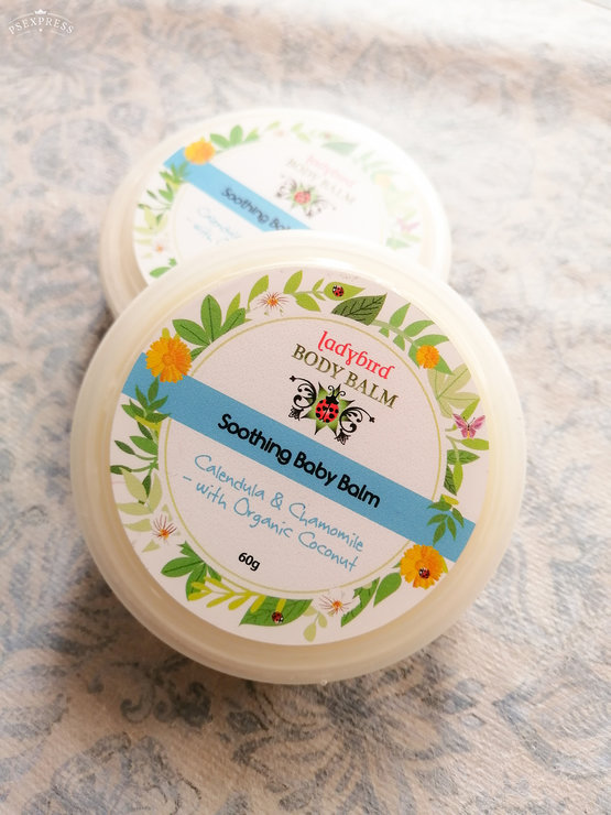 Ladybird Body Balm - Soothing Baby Balm - 60g by Annemae