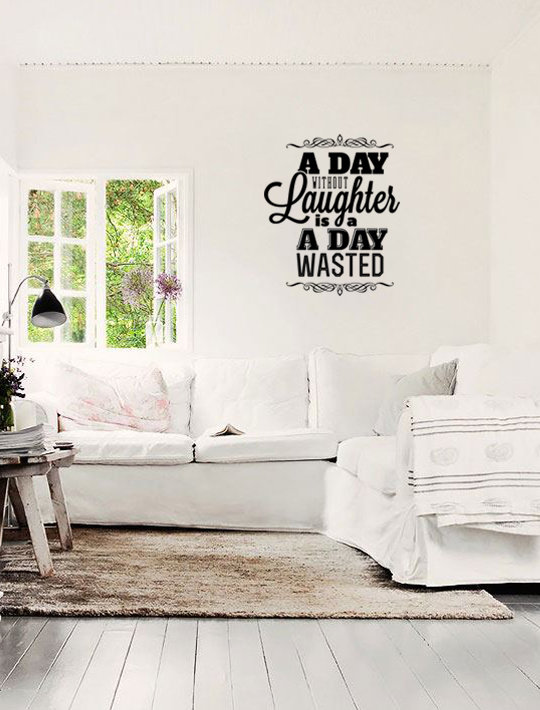 A day without Laughter by That Little Decor Company