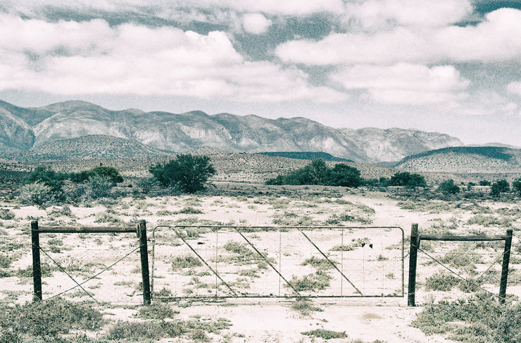 Farm gate. Karoo by Michael Middleton Photography