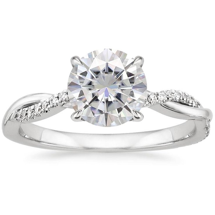 Dolly White Gold Engagement Ring by Ralph Jacobs