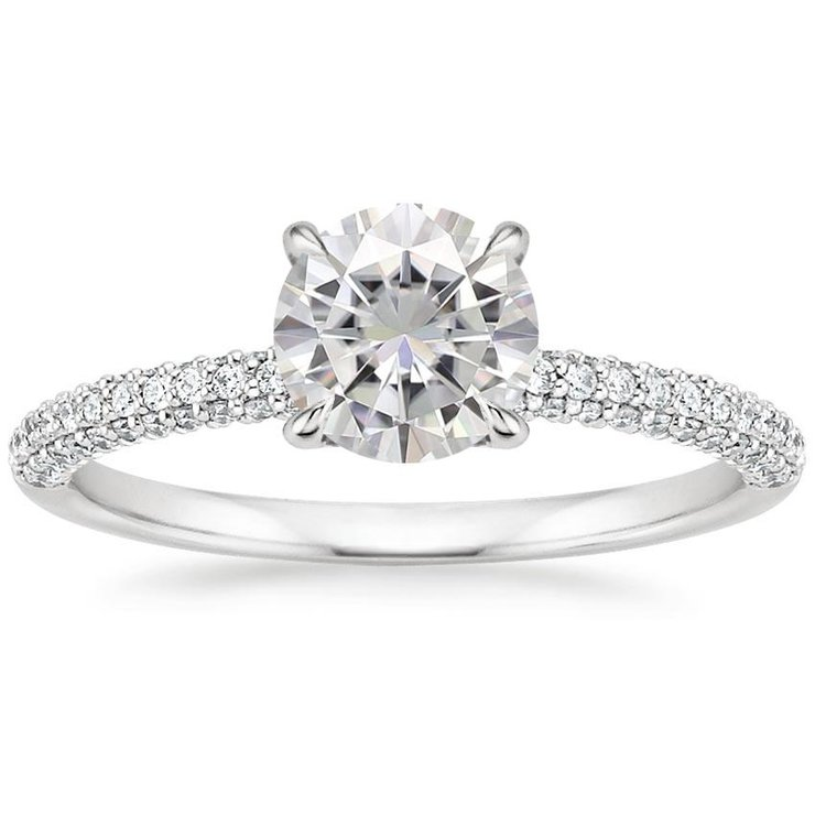 Olivia White Gold Engagement Ring by Ralph Jacobs