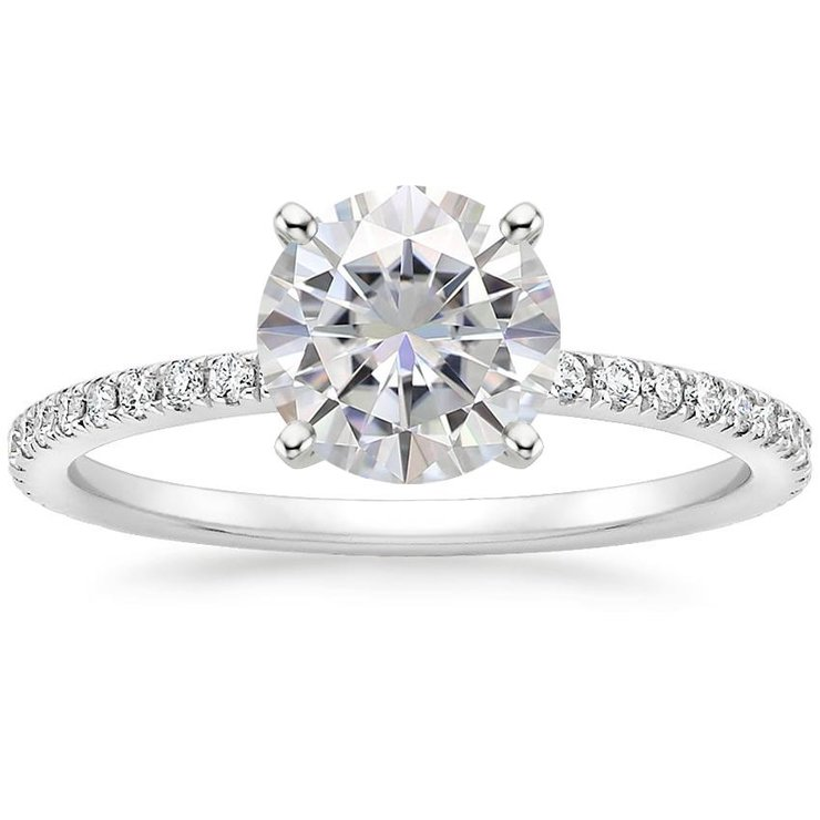 Veronica White Gold Engagement Ring by Ralph Jacobs