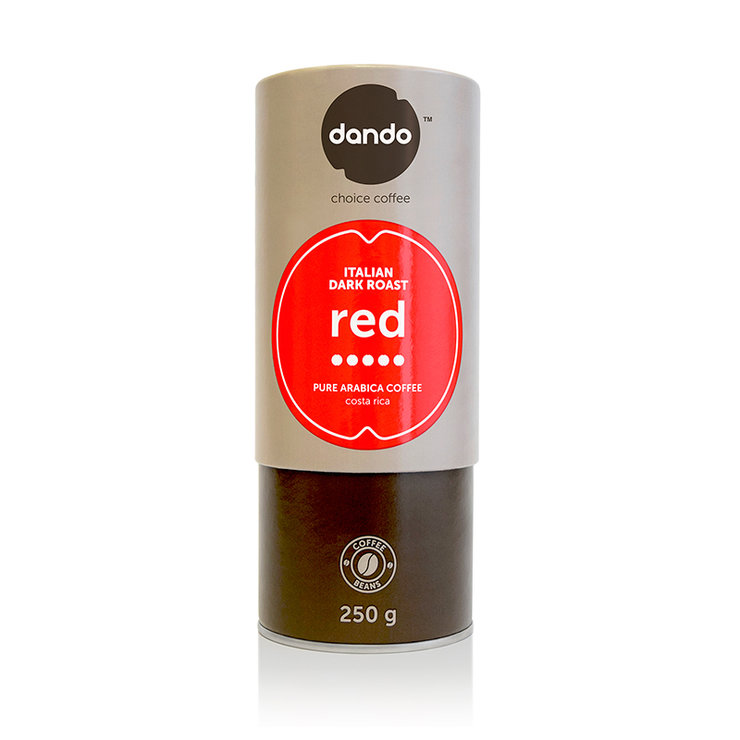 DANDO Red by Dando Coffee (PTY) Ltd