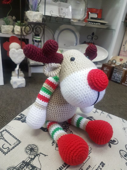 Rudolf Reindeer by Ruby & Rose Crochet