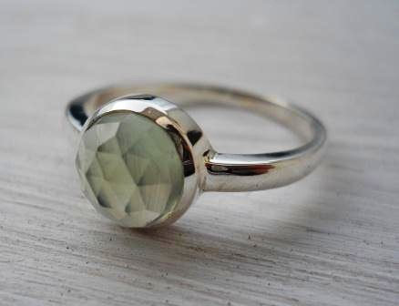 prehnite ring by thula
