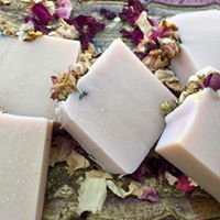 Smell the Roses Natural Soap by Canettevallei Lavender