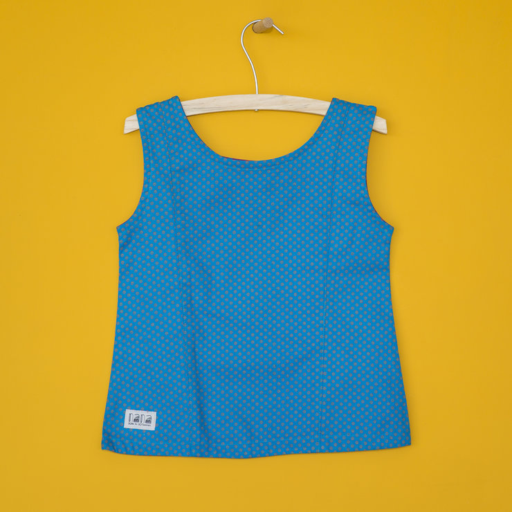 Girls' Top in Turquoise by Nana