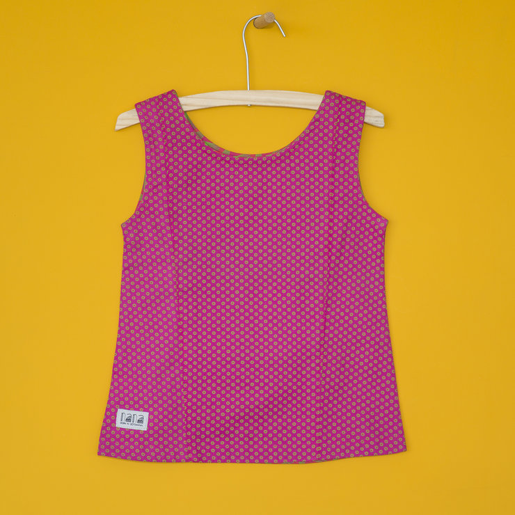 Girls' Top in Pink by Nana