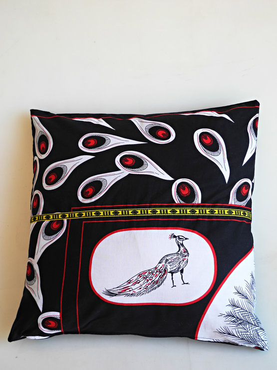 sangoma cushion cover peacock by noush