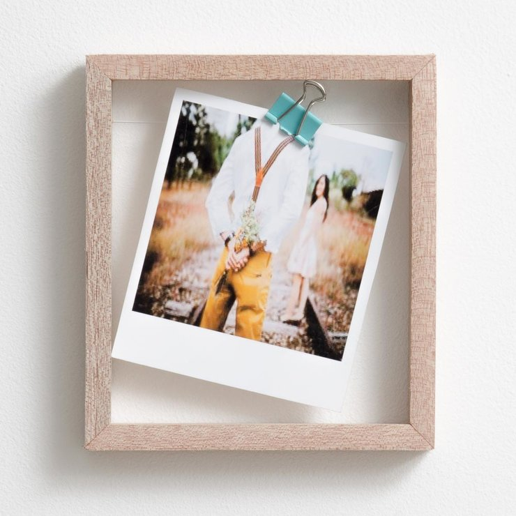 single polaroid floating frame | hello pretty. buy design.