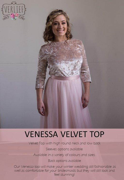 VENESSA TOP by VERLIEF PTY Ltd