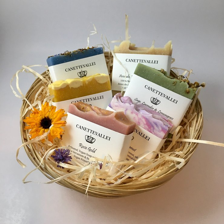 Soap Gift Basket by Canettevallei Lavender