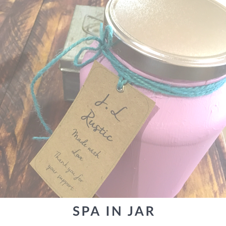 Spa in a Jar by J.L Rustic Home Decor and Gifting
