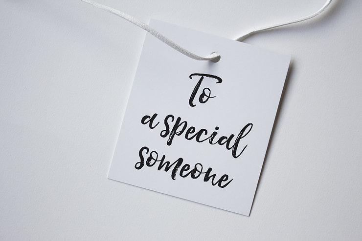 To a Special Someone Gift tags (Set of four) by Deerly Studio