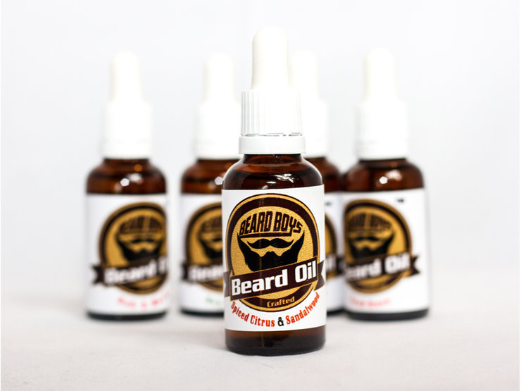 Beard Oil Spiced Citrus & Sandalwood by Beard Boys