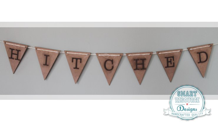 WEDDING BUNTING (M0090)	 by Miss Magpie