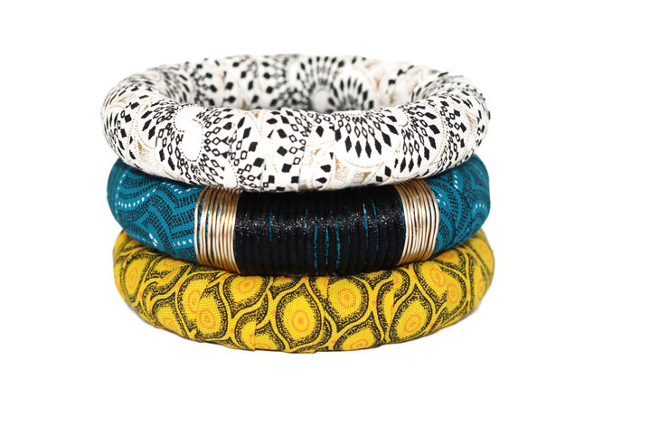 ShweShwe Bangles - Set of THREE (SSB4) by TikkiBoxx
