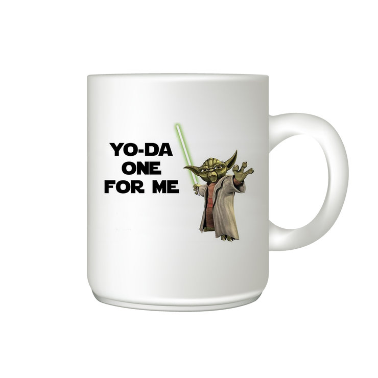 Coffee mug - Star Wars Yo-da one for me  by The Gift Factory