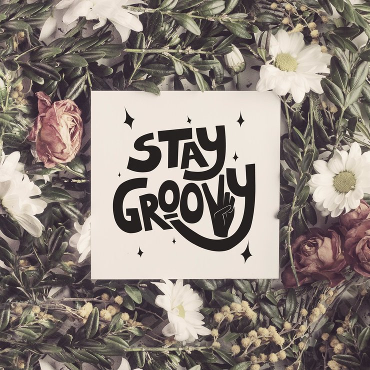 Stay Groovy, Printable Quote by Call It Magic Designs