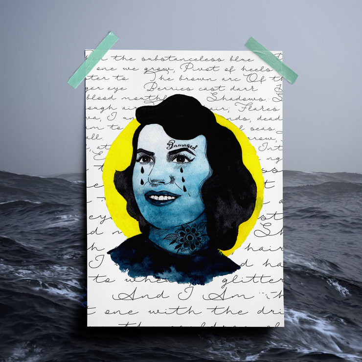 Sylvia Plath by Mermaids & Monsters