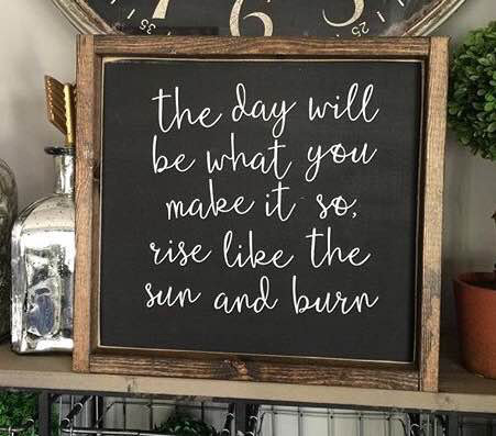 The day will be what you make of it  by It Is Written