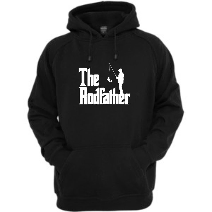 The Rodfather Hoodie by Qtees Africa (Pty)Ltd