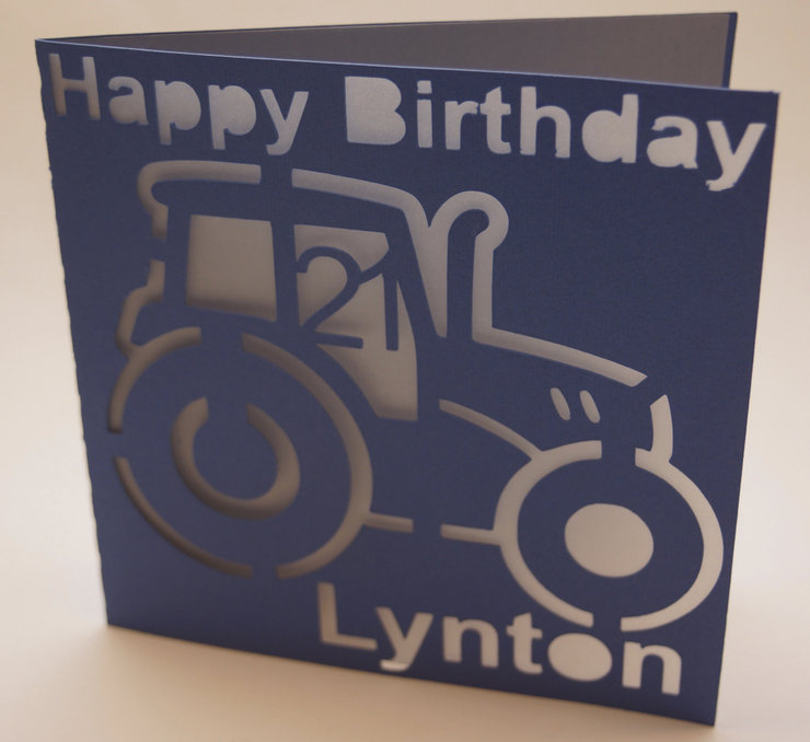 Tractor Birthday Card by Cards by Kerri – Tractor Birthday Cards