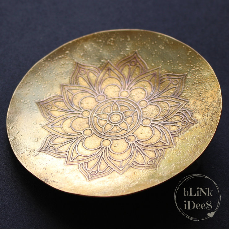 Brass Trinket Bowl (Large) by Blink Idees