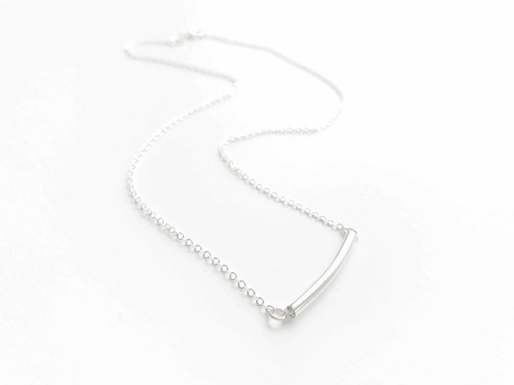 Tube Necklace by Haute and Tidy