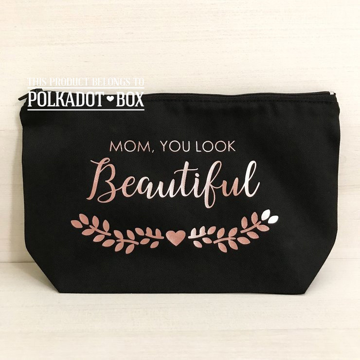 Beautiful Make Up Bag   by Polkadot Box