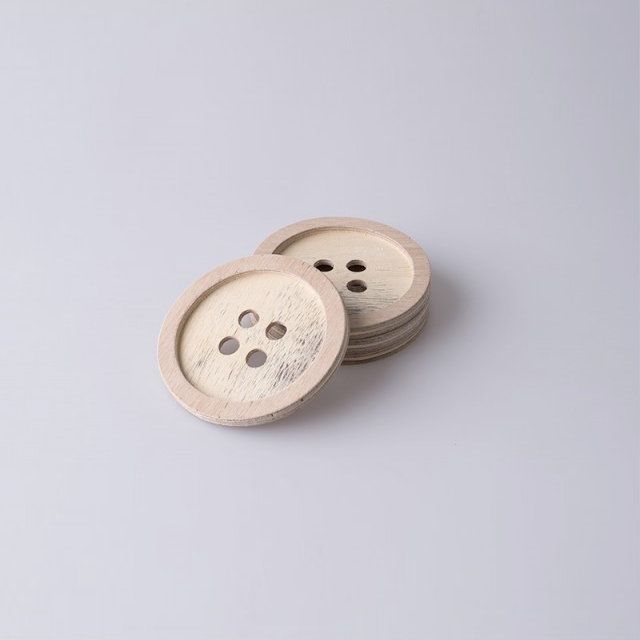 Button Coaster by Native Decor