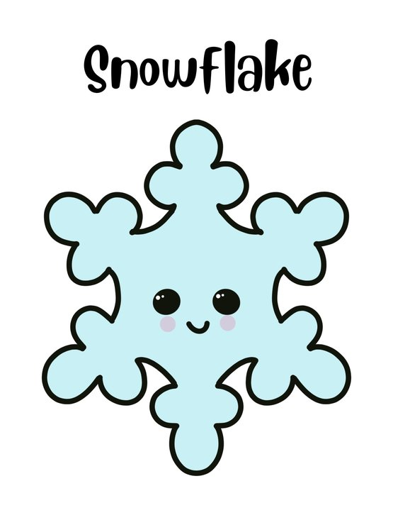 Snowflake cookie cutter by The Cookie Cutter Co