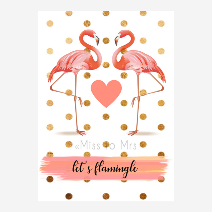 Flamingo - Decor Sign by Miss to Mrs