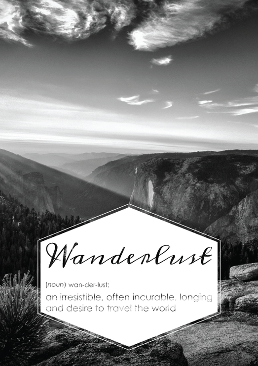 Wanderlust defined by Quiver Tree