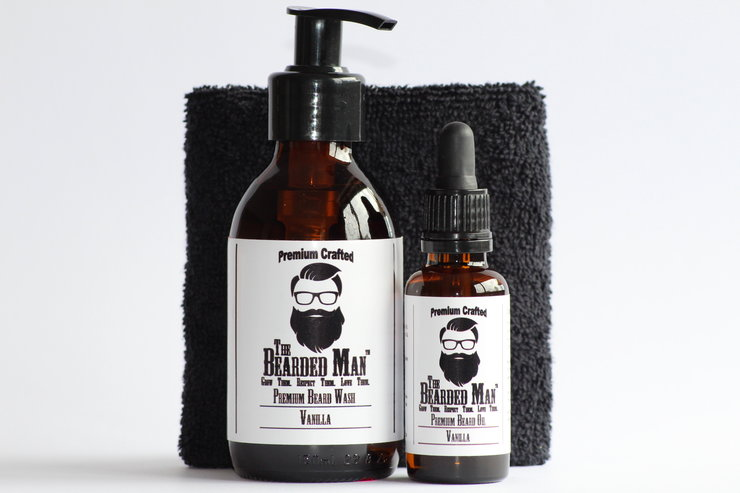 Premium Wash & Oil Combo by The Bearded Man SA