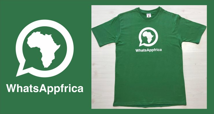 WhatsAppfrica (Men's) by Laugh it Off