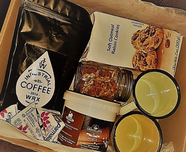The Gift box by The Java Box