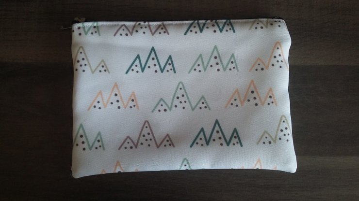 A5 Mountains Pencil Bag  by But Why Not