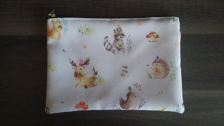 A5 Animals Pencil Bag   by But Why Not