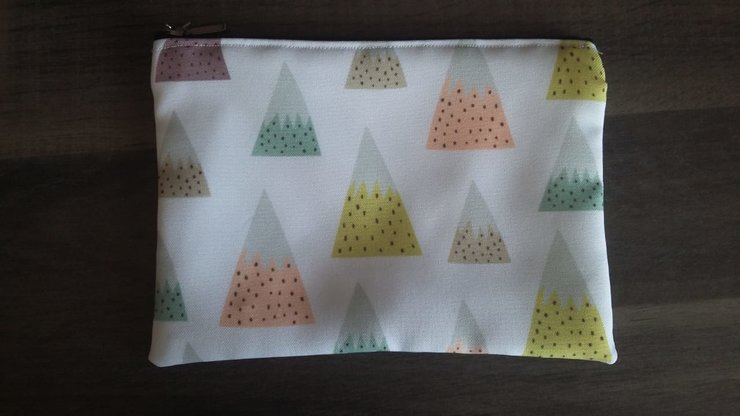 A5 Snow Mountains Pencil Bag   by But Why Not
