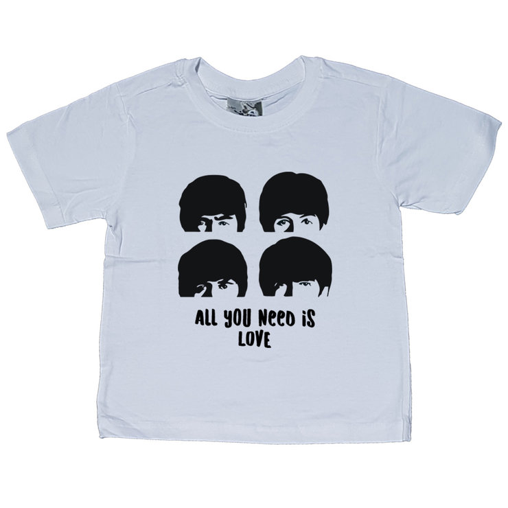 3d40679d0 Beatles All You Need Is Love Kids Shirt   Hello Pretty. Buy design.